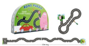 Road puzzle - Barbapapa