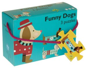 3 Hunde Puslespil - Barbo Toys Classic