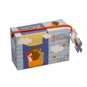 Barbo Toys Classic - Little Woodies - Buddy and Bear