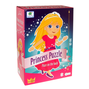 Prinsesse Gulvpuslespil - Barbo Toys Classic