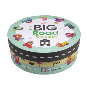 Barbo Toys Classic - My big Road Puzzle