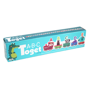 Barbo Toys Classic - ABC toget med dyr
