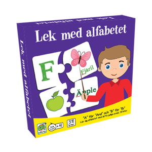 Barbo Toys - Lek med alfabetet SE