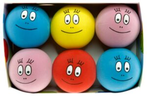 Barbapapa - Rubber Balls - Display