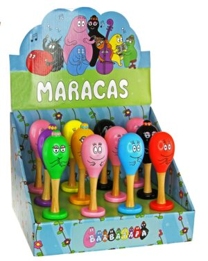 Barbapapa - Maracas - Display