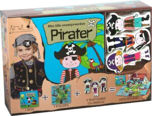 Barbo Toys Classics - Aktivitets box - Min lille eventyrverden - Pirater